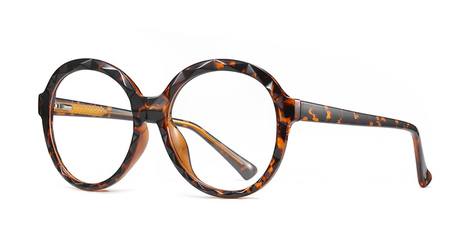 Pamela-Oversized womens round glasses