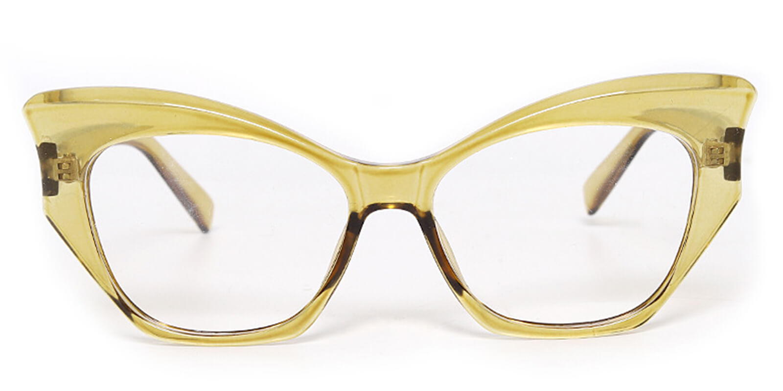 Magnet-Cat Eye Glasses with Butterfly Frame Fashion Design