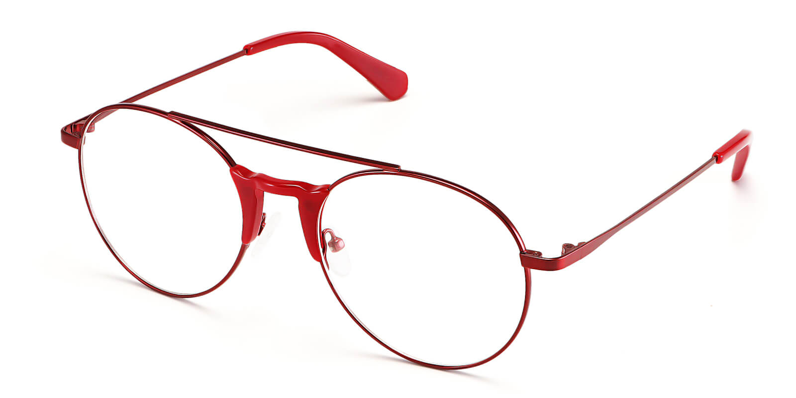 Astronomer-Aviator glasses : trendy hollow double bridge design