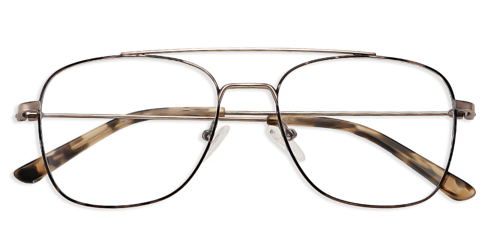 Daryl-Aviator classic glasses : square super-light metal design