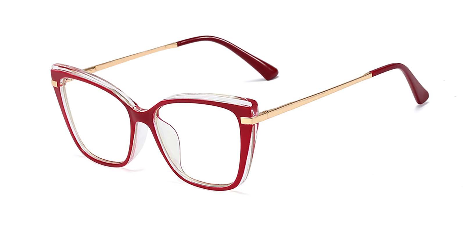 Indira-Retro cat eye eyewear spring hinge glasses