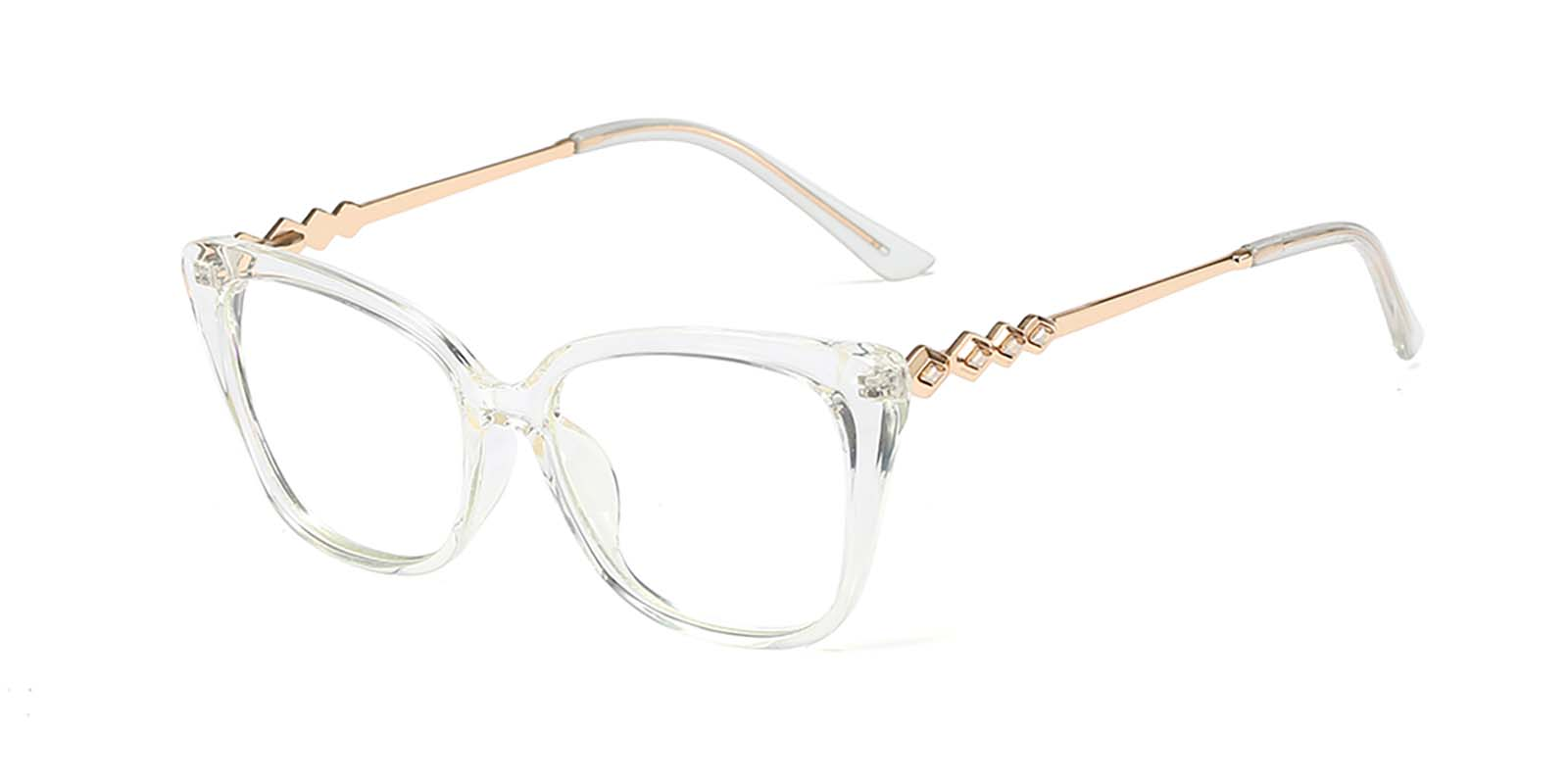 Ismay-Cat eye two tone glasses for women