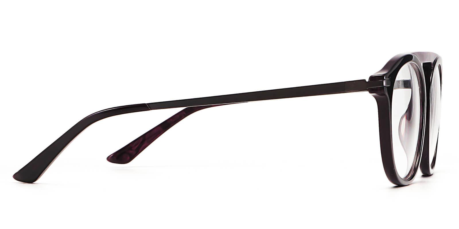 Ocean-Aviator classis glasses with single bridge layered color design