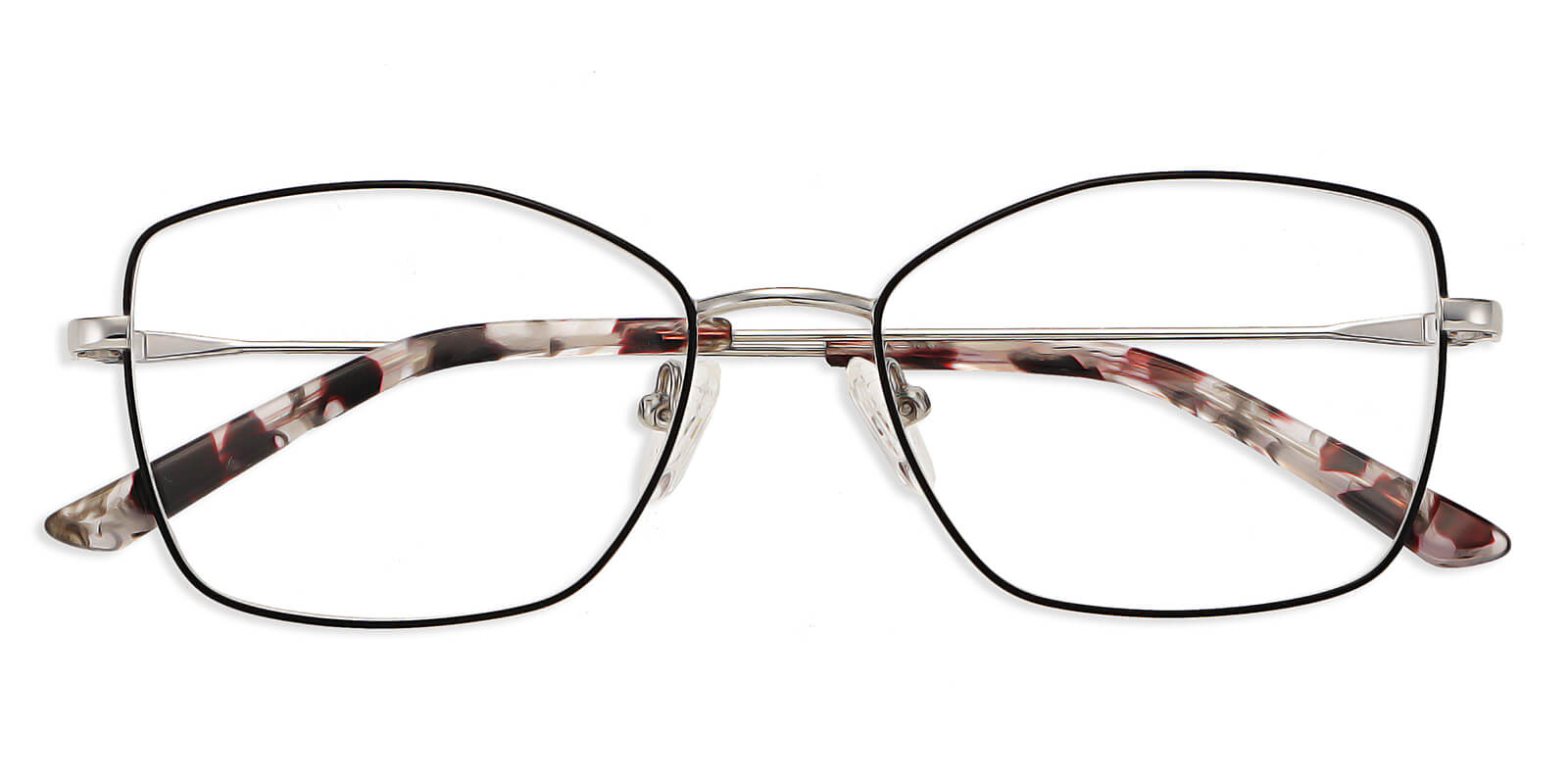 Holland-Cat eye glasses : two tone color design